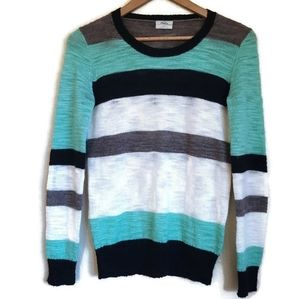 madewell wallace colorlane sweater size S